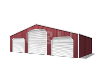 ENCLOSED STRAIGHT ROOF BARNS