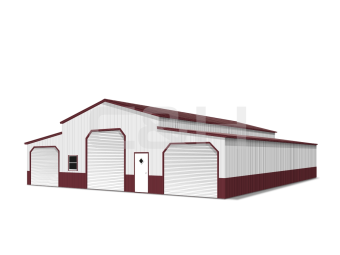 ENCLOSED TEXAS A-FRAME BARNS
