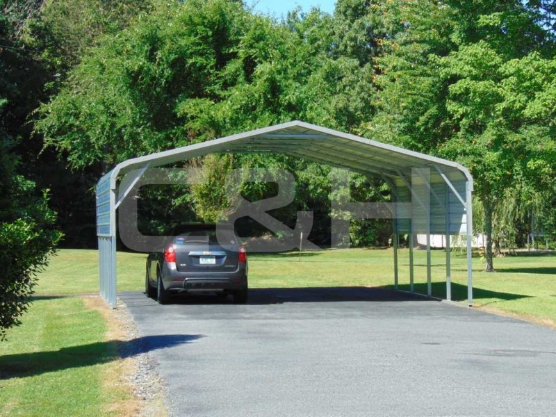 Regular Carport 22W x 21L x 8H