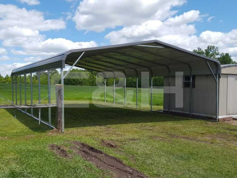 Regular Carport 24W x 36L x 7H