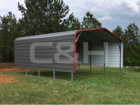 REGULAR CARPORT 18W x 21L x 8H