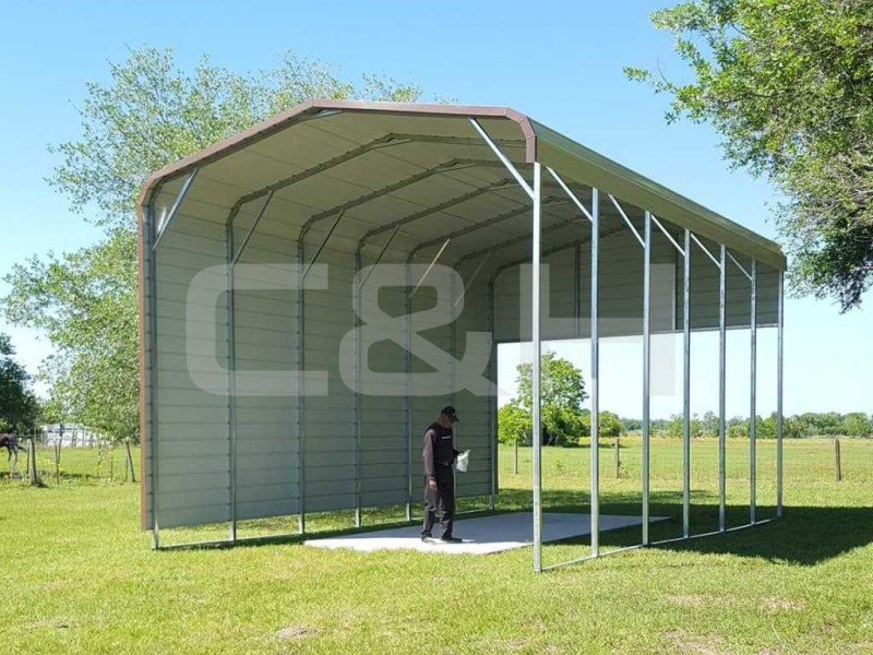REGULAR CARPORT 18W x 31L x 10H