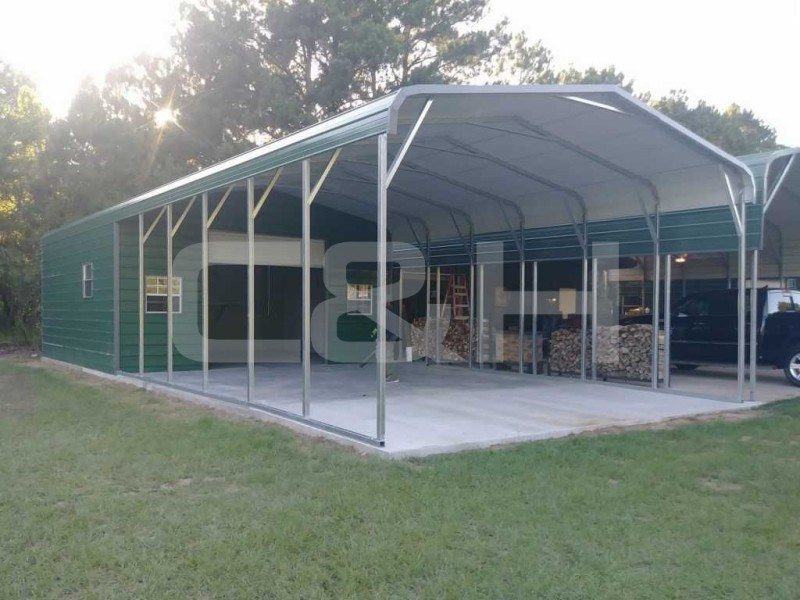 Regular Carport 20W x 41L x 9H