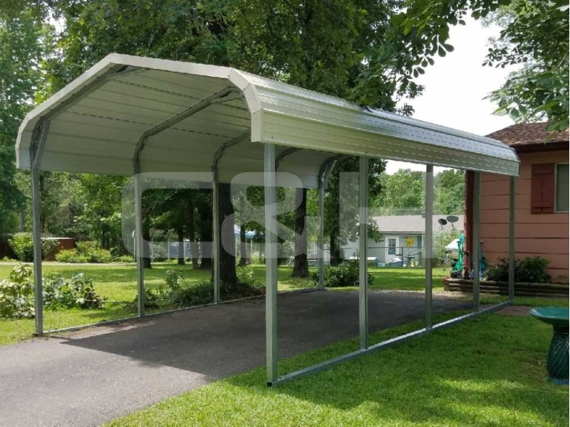 REGULAR CARPORT 12W x 21L x 6H