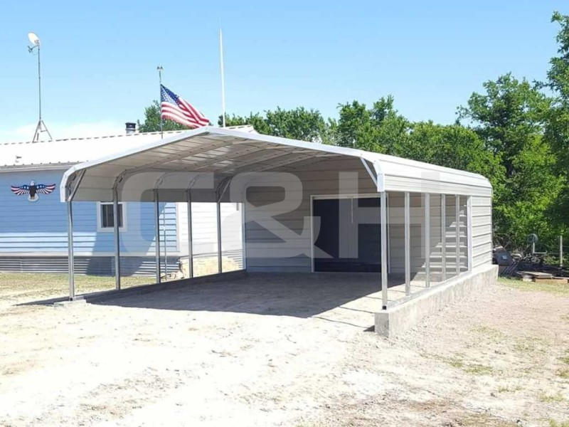 Regular Carport 18W x 31L x 6H