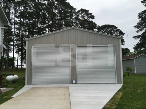 VERTICAL ROOF GARAGE 20W x 31L x 10H