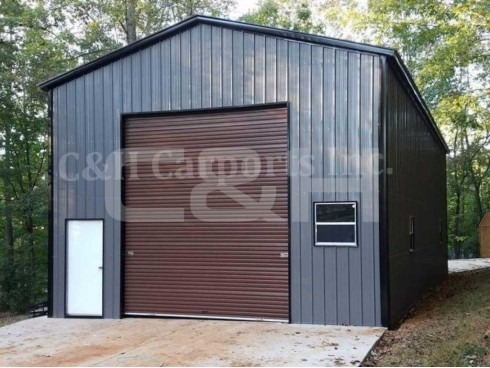 VERTICAL ROOF GARAGE 20W x 41L x 14H