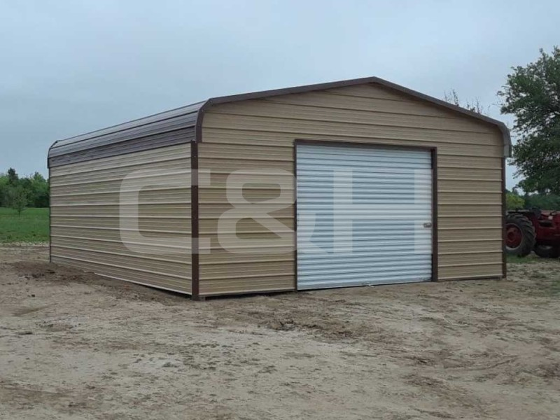 REGULAR GARAGE 18W x 21L x 8H