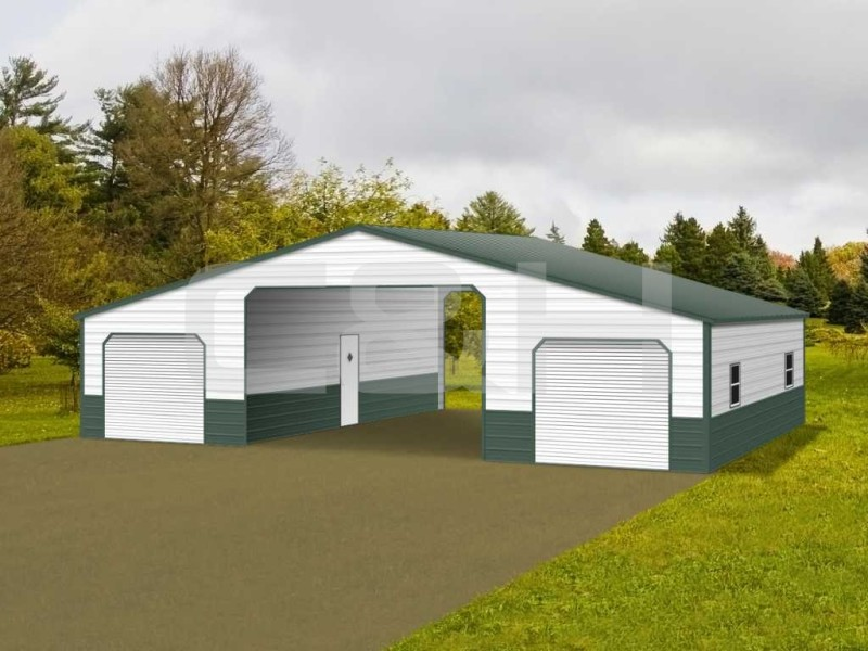 STRAIGHT ROOF BARN 42W x 31L x 1H