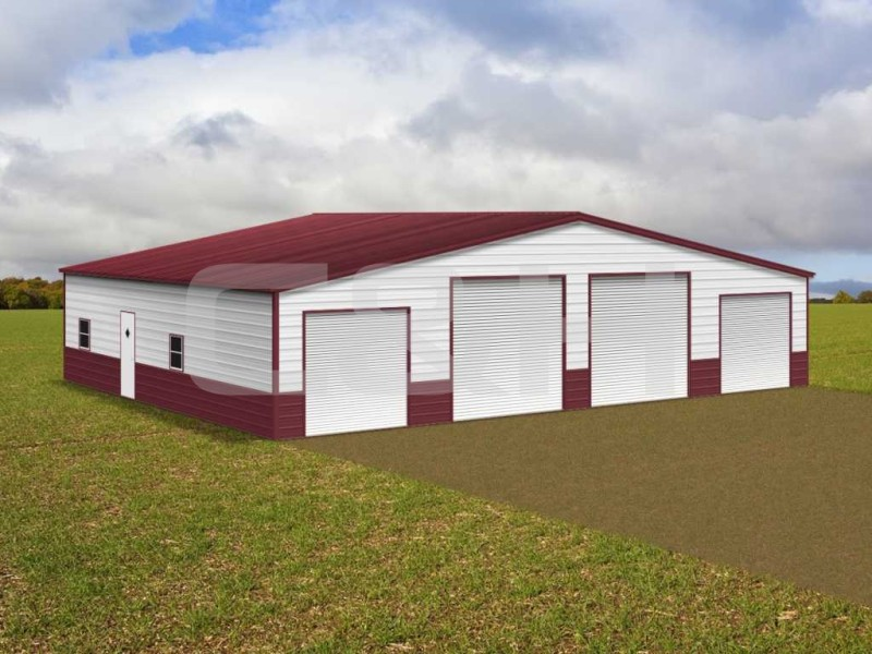 STRAIGHT ROOF BARN 48W x 41L x 12H